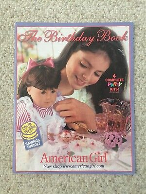 "American Girl ""The Birthday Book"" Catalog from 1999"