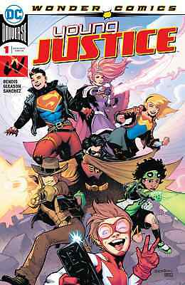 YOUNG JUSTICE 1st PRINT NM DC PREMIERE ISSUE 2019