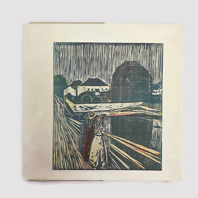 Vintage 1976 Edvard Munch The Major Graphics Oslo Museum Catalog Touring