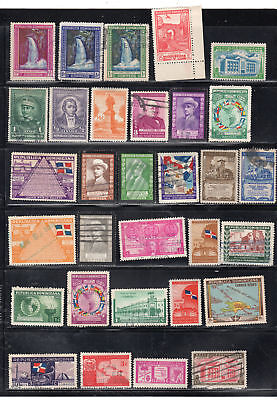 Dominican Republic  Stamps Canceled Used & Mint Hinged    Lot 37023