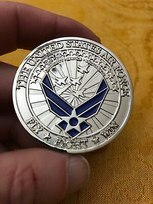 US Air Force Academy Commitment 60th Class Challenge Coin 2018 Fight To Win