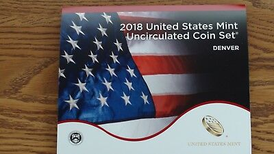 2018 P & D US Mint Uncirculated 20 Coin Set in Mint Packaging & Includes a COA