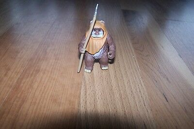 Star War Wicket the Ewok  Kenner 1998 Spear Pose able 3""