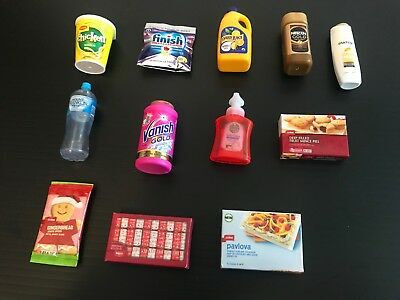 Coles Little Shop Mini Collectables - including Christmas and First Edition