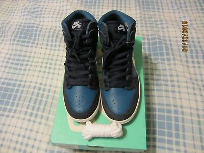 Nike SB Zoom Dunk High Pro Industrial Blue Size 9 Brand New 854851-414