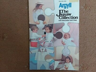 Argyll Jigsaw Collection for Babies and small children... machine knitting..