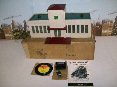 Vintage American Flyer S Gauge No.799 Talking Union Station With Original Box