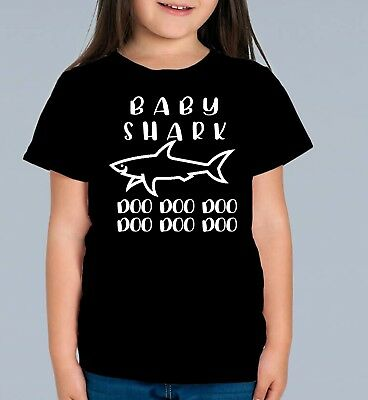 NEW Baby Shark  - Kids TShirt Girl Boy - Daddy Shark ( Gift Idea )