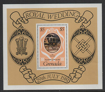 Grenada - Royal Wedding - MNH Minisheet