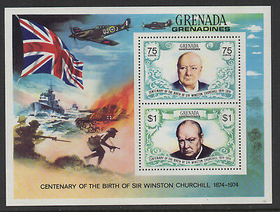 Grenada - Sir Winston Churchill - MNH Minisheet
