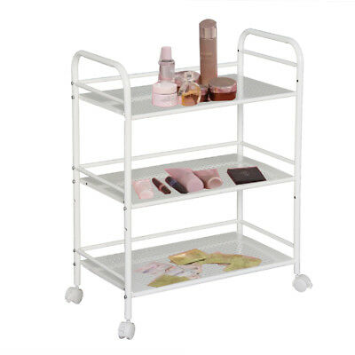 3 Shelf Beauty Salon Spa Trolley Shelf Cart Storage Tattoo Dentist Wax UK