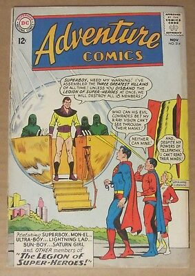 Adventure Comics #314 (1963, DC) 4.0...Superboy and the Legion of Super-Heroes