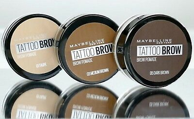 89b7bb52472 *NEW* Maybelline Tattoo Brow Pomade & Brush Waterproof Eyebrow Definer Boxed