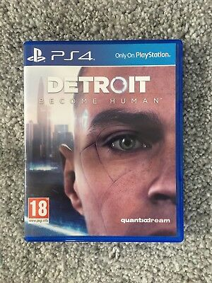 Detroit: Become Human PS4 (used but in Good condition