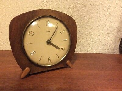 Smiths Mid Century Atomic Modernist Design Clock Needs Service vintage