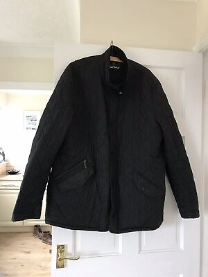 Mens Barbour Chelsea  Quilted Jacket Black Xl