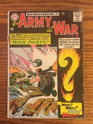 Our Army at War #151..First Enemy Ace..February,1965...