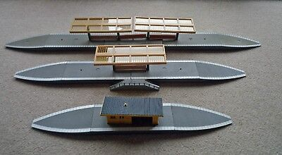 Job Lot Of Hornby Station Platforms,canopies, Benches, Fencing Etc Used But Good