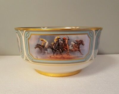 Fred Stone Triple Crown Bowl Ltd Edition Pickard China Derby Horse Races