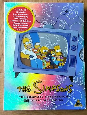 The Simpsons - Series 1 - Complete (DVD, 2001, 3-Disc Set) NEW/SEALED