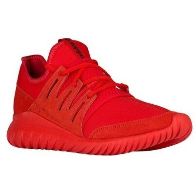 US 9.5 ADIDAS MENS TUBULAR ORIGINALS RADIAL RED - Wore Twice