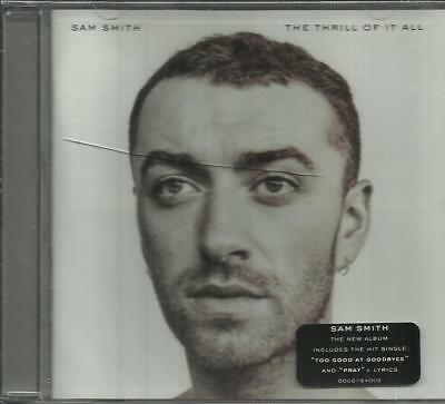 The  Thrill of It All by Sam Smith (CD, Nov-2017, Capitol) New Sealed