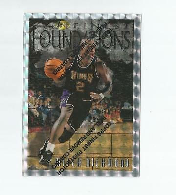 Mitch Richmond 1996-97 Topps Finest Silver Xfractor Foundations #264 Kings Rare