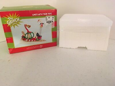 Dept 56 The Grinch Dr Seuss Who's With Their Toy's NRFB
