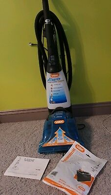 VAX rapide deluxe carpet cleaner - V026 used once only with instructions /filter