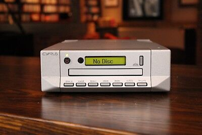 Cyrus CD 7 CD Player with Remote & Manual in silver VGC