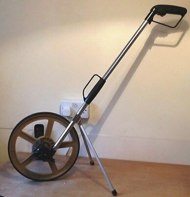 AM-Tech Distance Measuring Wheel with Stand and Foldable Bag(Not been used)