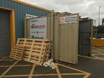 """Used 10"""" X 8"""" shipping containers"""