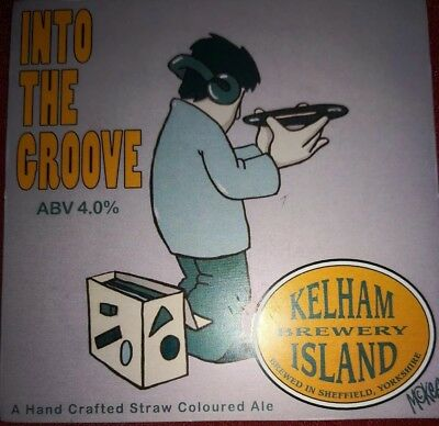 Kelham beer pump clip Pete Mckee into the grove
