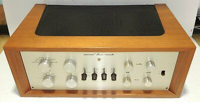 Marantz 7C Tube Preamplifier Serial #12337 Excellent Working Cond With Wood Case