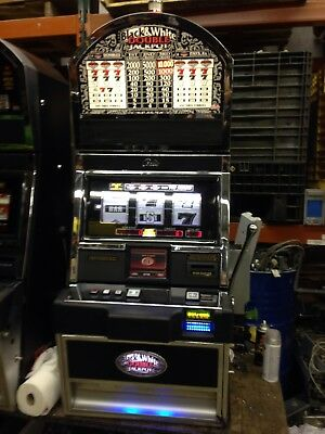Bally Alpha Black And White Double Jackpot SLOT MACHINE With Free Play