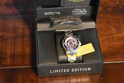 Invicta Star Wars Automatic Watch Grand Diver R2-D2 Limited Edition 47mm