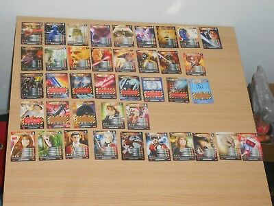 Doctor Who Battles in Time (from 050 to 099) 40 Cards in Total, See Numbers