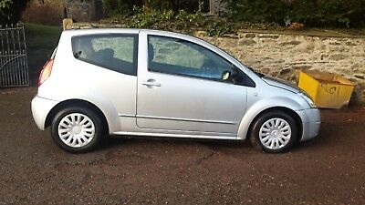 Citroen C2, 1.4HDI, Diesel, 77,000 Miles, Silver, £30 Tax, Low Insurance, 60+MPG