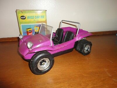 Vintage Cox Dune Buggy .049 Gas Power Engine Free Running w/Race Car Kit