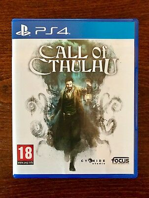 Call Of Cthulhu PS4 Sony Playstation 4 Game