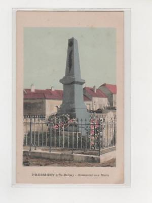 PRESSIGNY ( Hte Marne ) Monument aux MORTS