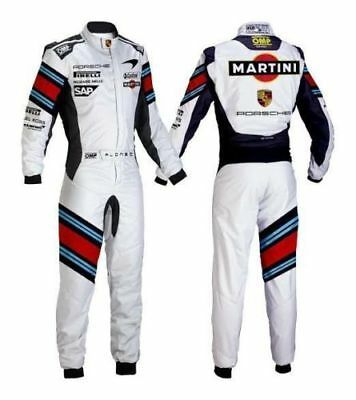 Martini Go Kart Racing Suit CIK/FIA Level 2 Approved includes Free Gift