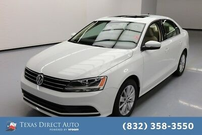 2015 Volkswagen Jetta TDI S 4dr Sedan 6A Texas Direct Auto 2015 TDI S 4dr Sedan 6A Used Turbo 2L I4 16V Automatic FWD