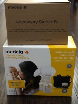 Medela Pump in Style Advanced On-the-go Tote Solution Set 57063BN Double & Start