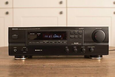 Denon Stereo Receiver DRA 275RD. Good quality amplifier/tuner.