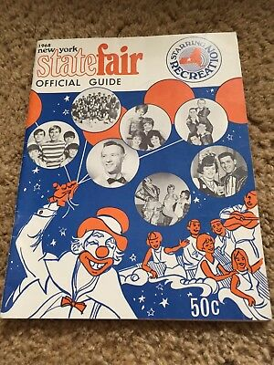Vintage 1968 New York State Fair Official Guide