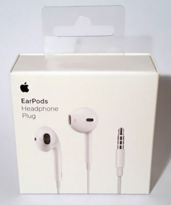 Apple EarPods ear pods with remote and 3.5mm Headphone Jack Plug for iPhones