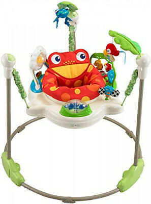 Fisher Price Rainforest Jumperoo / Baby Bouncer Play Gym