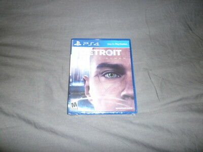 Detroit Become Human PS4 Playstaion VR Brand New *USA Version*