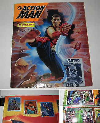 Album Panini,action Man 2,1996 (Complet -1) Tbe,action Joe,complete 99%,+ Poster